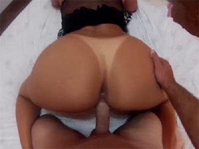 Morena rabuda em porno amador