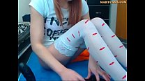 webcam teen hot ruivinha magrinha peladinha